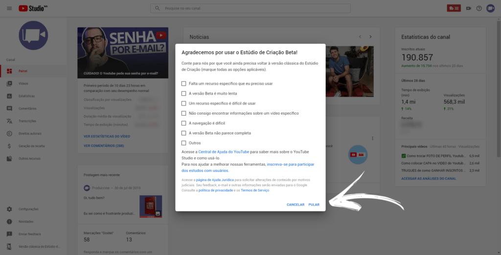 Cadê o Estúdio de Criação do Youtube? | PRODUCCINE